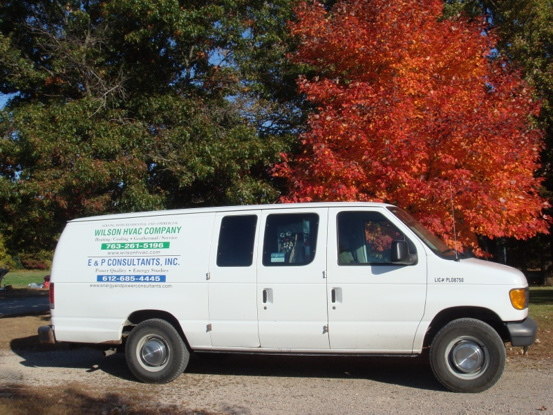 Wilson HVAC Company has service trucks fully supplied for any of your furnace or air conditioning needs in Becker MN area