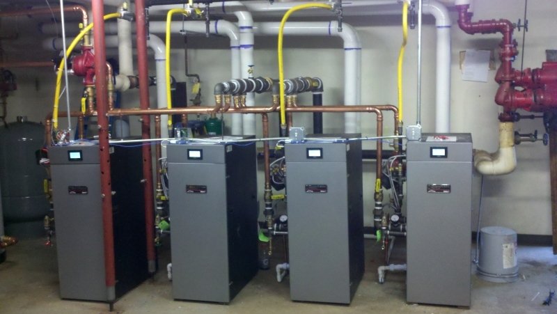 Wilson HVAC has trucks ready for your commercial Furnace repair in Becker, MN.